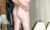 Granny Ultra Plump Grandma Ginger Spice Spreading Her Flat Ass To Show Off Her Juicy Pussy Slit Live Granny Ultra