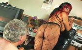 Face Sitting Freaks 510007 Fishnet Facesitting Mistress Carmin Parades Around The Room In Her Fishnet Bodysuit And Leather Heels Before Performing Asphyxiation On Her Slave By Way Of Facesitting. She Then Orders Her Slave To Put On Womens Lingerie And Smothers Him With Her Big Blac