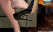 The Joy Of Feet Lovely MILF Taylor Offers You Her Hot Nyloned Feet! The Joy Of Feet