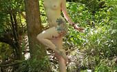 Sweet Nature Nudes Elizabeth Elizabeth Presents Into The Deep Wind Blowing Slowly, Tree Branches Swaying In Wind.... Sweet Nature Nudes