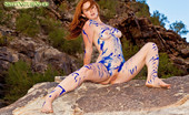 Sweet Nature Nudes Elena Elena Presents Rocky Oil Painting Wild And Wicked...The Female Beast Has You In Her Sights.... Sweet Nature Nudes