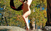 Sweet Nature Nudes Stacy Snow Stacy Snow Presents Red Scarf The Wind Tickles Her Neck As She Allows The Breeze To Catch Her Sheer Cloth, Revealing All Underneath.... Sweet Nature Nudes