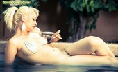 Sweet Nature Nudes Lola Lola Presents Splashing Tattooed Blonde Takes Off Her Bikini And Splashes In The Pool... Sweet Nature Nudes