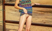Sweet Nature Nudes 510748 Claire Claire Presents Desert View Petite And Flexible Teen Strips Down Her Jean Shorts In The Desert Heat... Sweet Nature Nudes