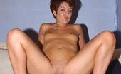 Real Sex World Slightly Matured Redhead Gets Lustful Doggie Style Fucking On The Couch Real Sex World