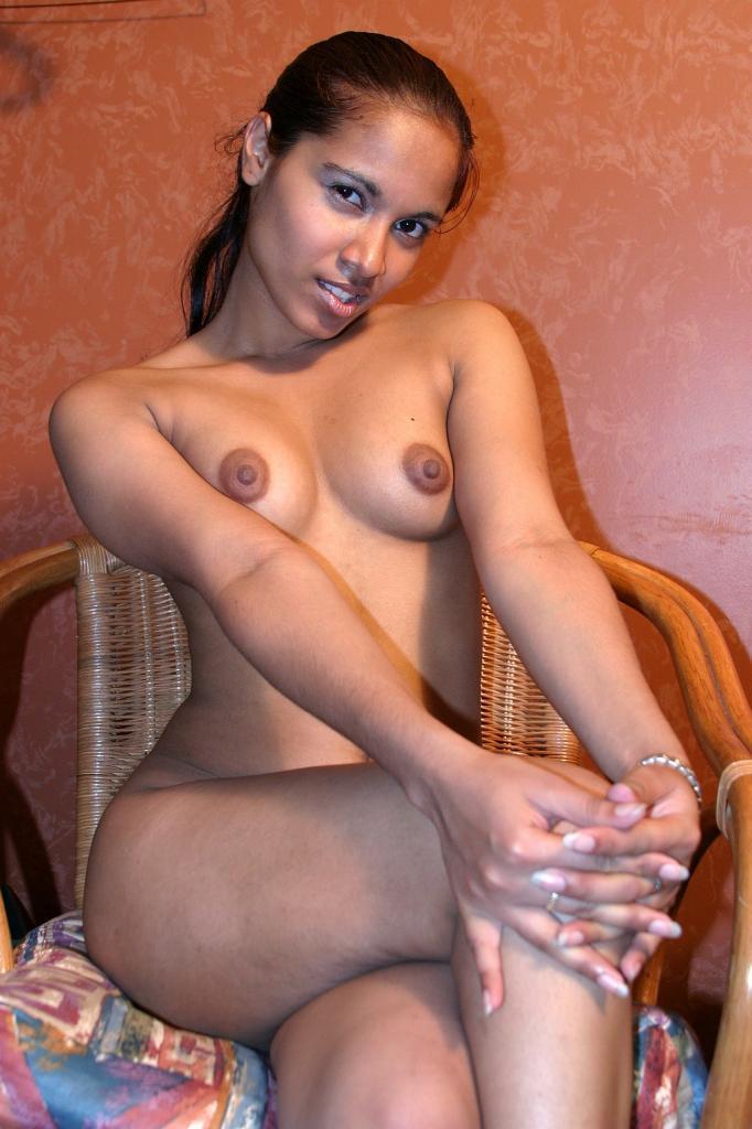 Light Skin Ebony Teen Big Tits