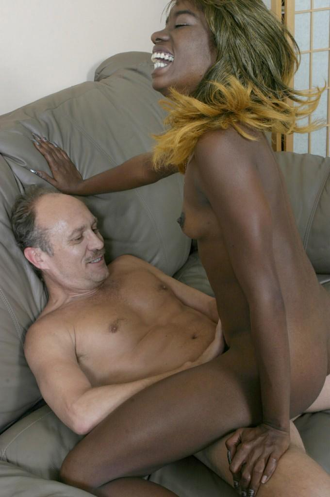 Black Ebony Shaking Orgasm