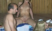 Angie XXX Hot Tub Threesome And Facial Fun Angie XXX