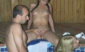 Angie XXX Hot Tub Threesome And Facial Fun Angie XXX