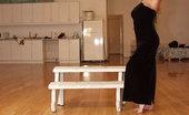 Angie XXX Bog Boob Hottie Slipping Out Of Her Black Dress Angie XXX