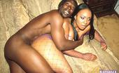 Ebony Romance Beautiful Ebony Chick In Fishnets Gets Slammed In Her Ass Ebony Romance