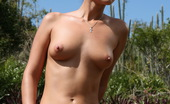 Sun Erotica Claudia Rossi Claudia Rossi Was Hot Udner The Sun In The Desert So She Got Naked By The Cactus And Show Us Her Hairy Pussy And Firm Tits Sun Erotica