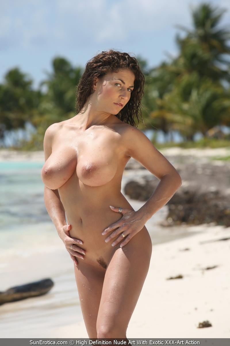 Sun Erotica: Hot And Busty Babe Sandra