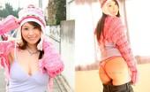 Yes-Movies 514816 Misa Nishida Strips Off Her Pink Bikini Yes-Movies