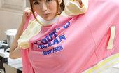 Yes-Movies Yu Namiki Strips Off Her Pink Bikini Yes-Movies