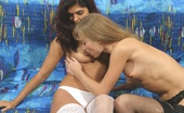 Young Porn Home Video 515720 Sonya Two Hot Girls Play Lesbian Games In Bed Two Hot Teens Get A Taste Of Each Others' Pussy In Their Very First Lesbian Sex Action Young Porn Home Video