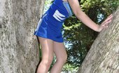 Unlocked Profiles Naughty Amateur Asian Cheerleader Sasha Yung Showing Her Assets Outdoors Unlocked Profiles