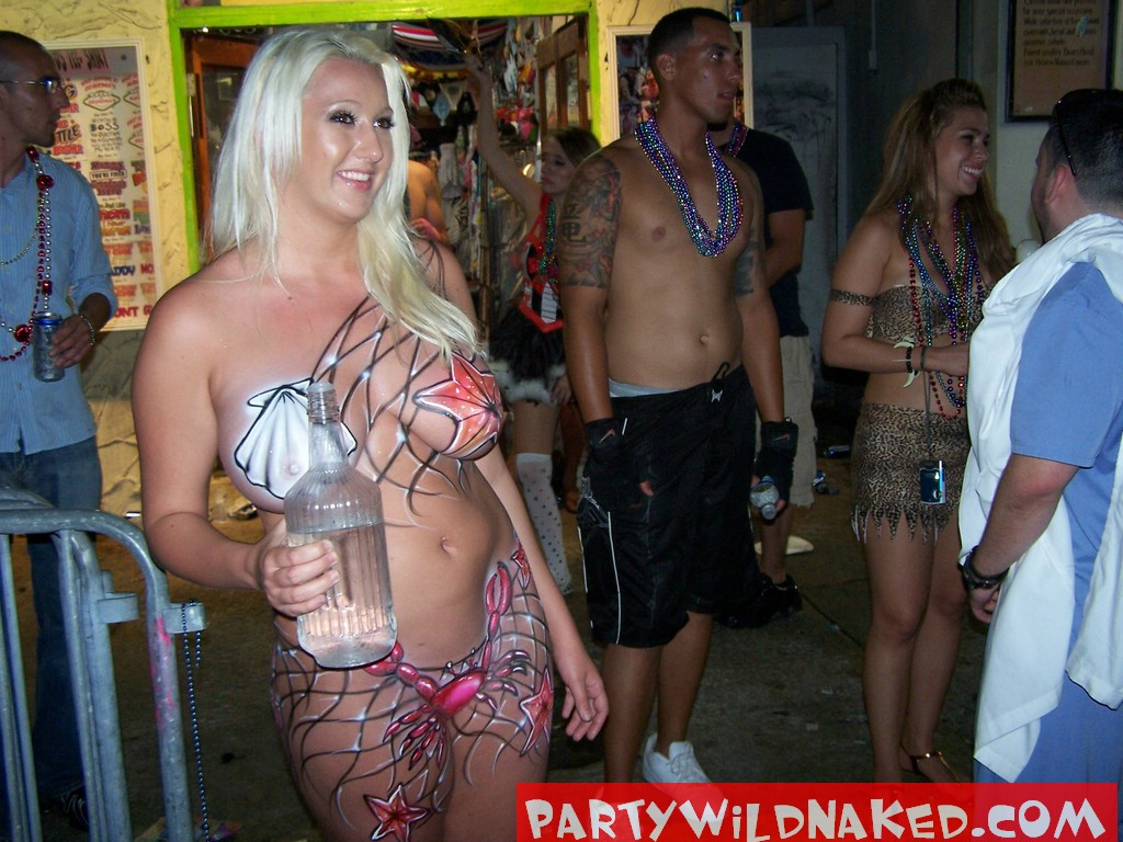Wild naked woman parties photos and other