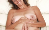 Old N Fat Mature Brunette Mama Showing Off Her Pierced Nipples Old N Fat