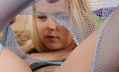 Petite Lover Bri Skies Bri Rips Off Her Fishnets Petite Lover