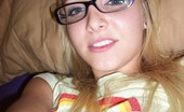Petite Lover Elle Sexy Tiny Blonde In Glasses Topless Petite Lover