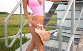 Petite Lover Boroka Boroka Spreading Her Legs Wide Open Petite Lover