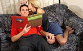 Nylon Butterfly Cum On Her Sexy Pantyhose! Briannas Nylons Hide How Hot Her Pussy Feels And To Get To It Carl Teases It With His Hard Cock. Nylon Butterfly
