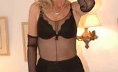 Nylon Extreme Bodystockinged Babe Stuffs Her Pussy Nylon Extreme