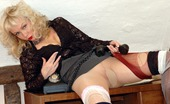 Nylon Extreme Layered Hose And See-Thru Top For Toying Blonde Nylon Extreme