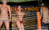 Club Flashers Tequila Frog'S Hosts The Wildest Wet T Contests! See These Girls Strip Down On Stage For This Wild Crowd! Club Flashers