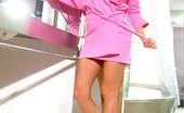 Club Anita 519083 Pink Robe Anita Dark In Her Pink Robe Looking Sexy! Club Anita