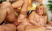 Hot 60 Club Adriana Grandma Still Loves To Get Her Old Pussy Stuffed Full Of Meat! Hot 60 Club