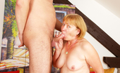 Hot 60 Club Mila Granny Gapes Her Cunt For Some Thick Dick! Hot 60 Club