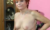Hot 60 Club Carolee Hot Redhead Granny Gets Fucked! Hot 60 Club