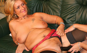 Granny Lesbian Club Mary & Sophie Two Grannies Fuck Each Other With Double Dildo Granny Lesbian Club