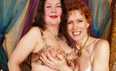 Granny Lesbian Club Rebecca & Yara Lesbian Granny Yara Serviced By Sexy Rebecca Granny Lesbian Club