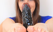 Feet Luv Zena Little Stirring Brunette Babe Zena Little Gives Footjobs To A Plastic Cock Feet Luv