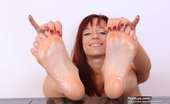 Feet Luv Vivien Fox Handsome Vivien Fox Gives Footjobs To A Massive Dark Plastic Dong Feet Luv