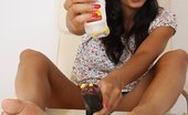 Feet Luv Terra Sweet Cuddly Babe Oils Her Feet For A Better Footjob Feet Luv