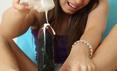 Feet Luv Zena Little Stirring Brunette Babe Zena Little Gives Footjobs To A Rubber Cock Feet Luv
