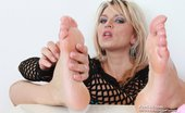 Feet Luv Promesita Slim Miss Sharon Licks Her Bare Feet Feet Luv