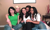 Flirty Pussy Sarah Moon & Megan & Judy Star & Emmy & Zeina Heart Five Awesome Lesbians Emmy Flirty Pussy