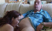 The Dirty Old Man Brunette Teen Fucks The Old Man The Dirty Old Man