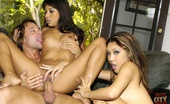 Sex City Asia Nyomi Marcela & Nautica Thorn Horny Asians Sucking Hard Cock And Fucking With Sex City Asia