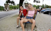 Public Place Pussy Jana Young Couple Is Having Hot Sex At Several Public Places Public Place Pussy