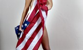 All About Ashley All American Ashley Shows Pride In Flag All About Ashley