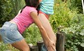 Sweet Denisa Outdoor Girl On Girl Action Sweet Denisa