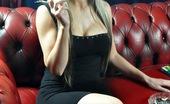 Smoking Femme Fatale 523935 Smoking In A Black Dress Smoking Femme Fatale Smoking A White Menthol Cigarette In A Tight Black Dress Smoking Femme Fatale