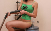 Sugar Paradise Seductive Teen HousemaidTeen Housemaid Was Cleaning Up The Room And Felt Bored, So She Decided To Take Off Her Clothes And Have Some Fun With The Vacuum Cleaner Sugar Paradise