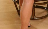 Leg Seeker Cassandra Leggy Cassandra Gets Hot On The Phone Leg Seeker